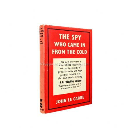 The Spy Who Came In From the Cold Signed by John le Carré First Edition Victor Gollancz 1963